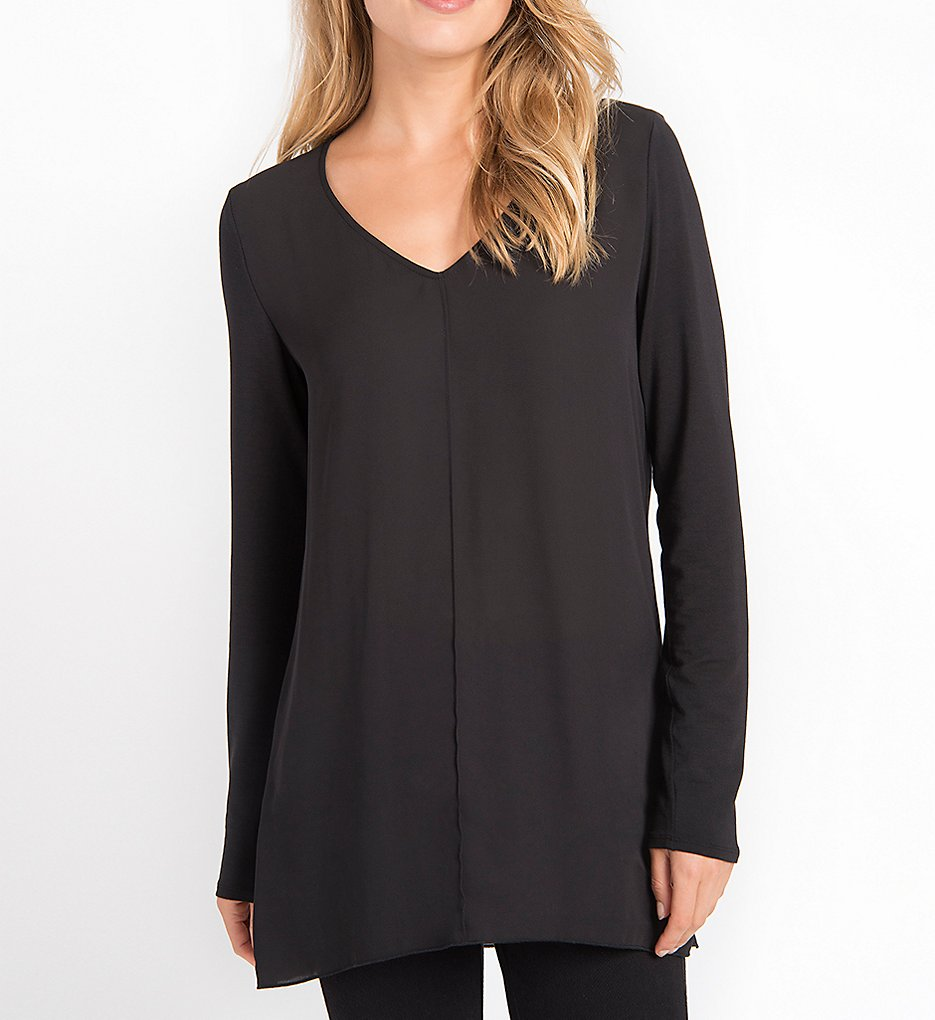 Lysse 1472 Linden Long Sleeve Top (Black)