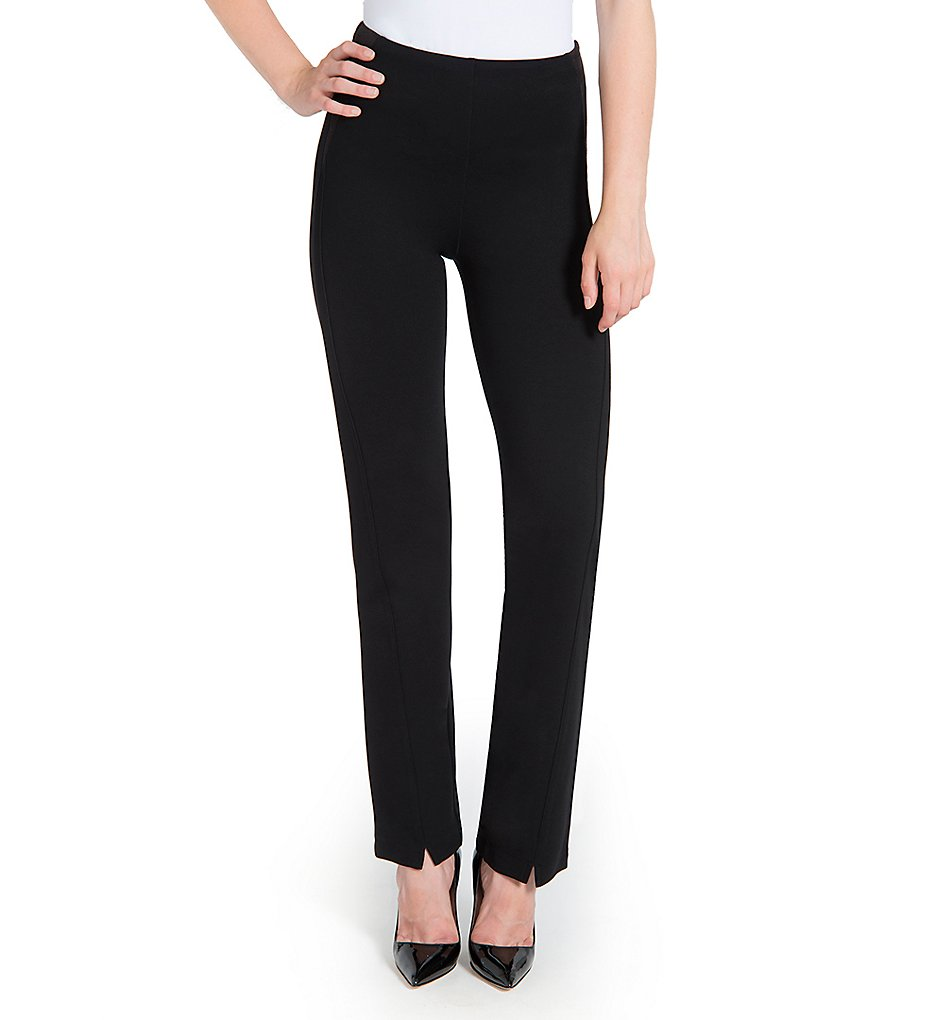 Lysse 1488 Highland Faux Suede Inset Pants (Black)
