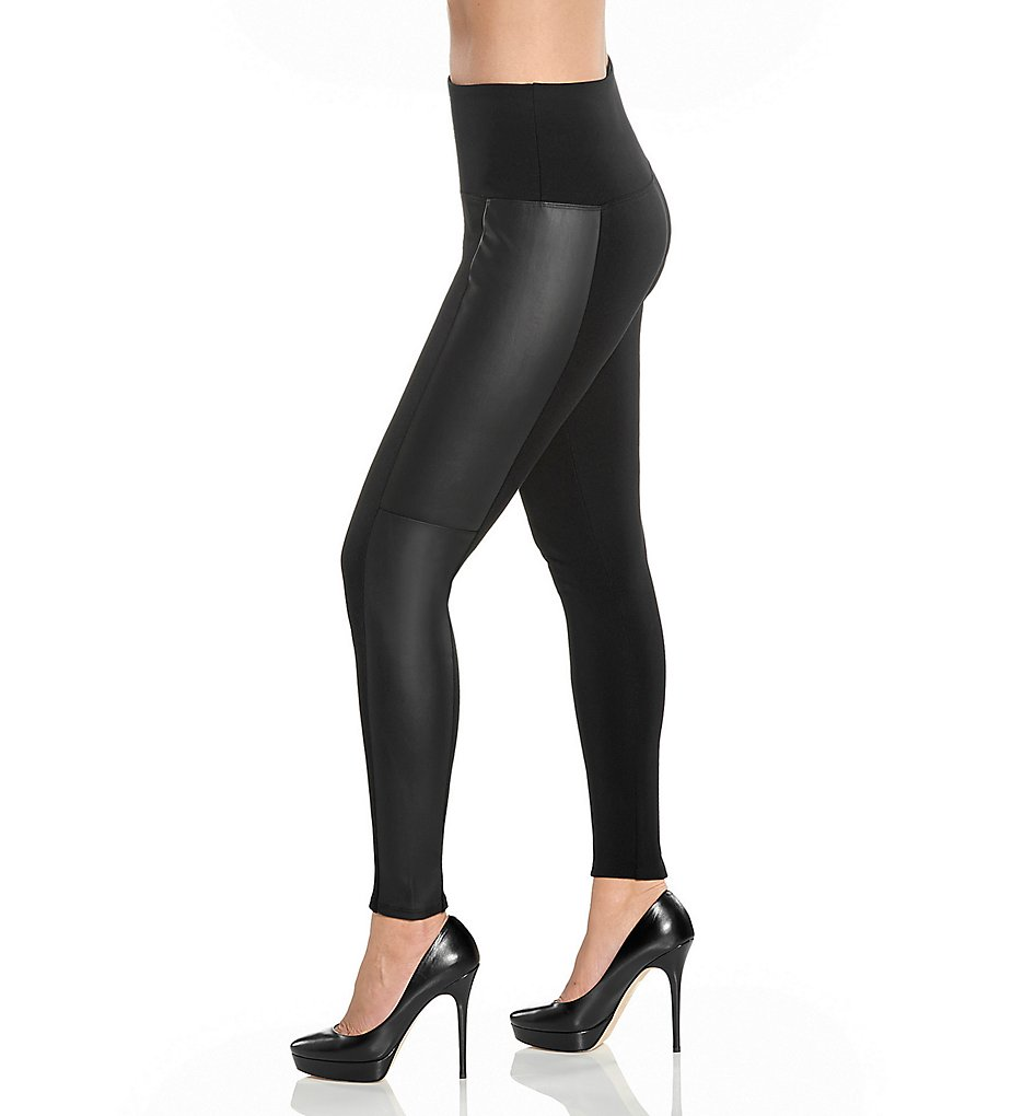 Lysse 1504 Side Panel Ponte Leggings (Black)
