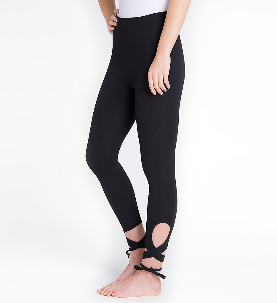 Lysse 1592 Wrap Ankle Leggings (Black)