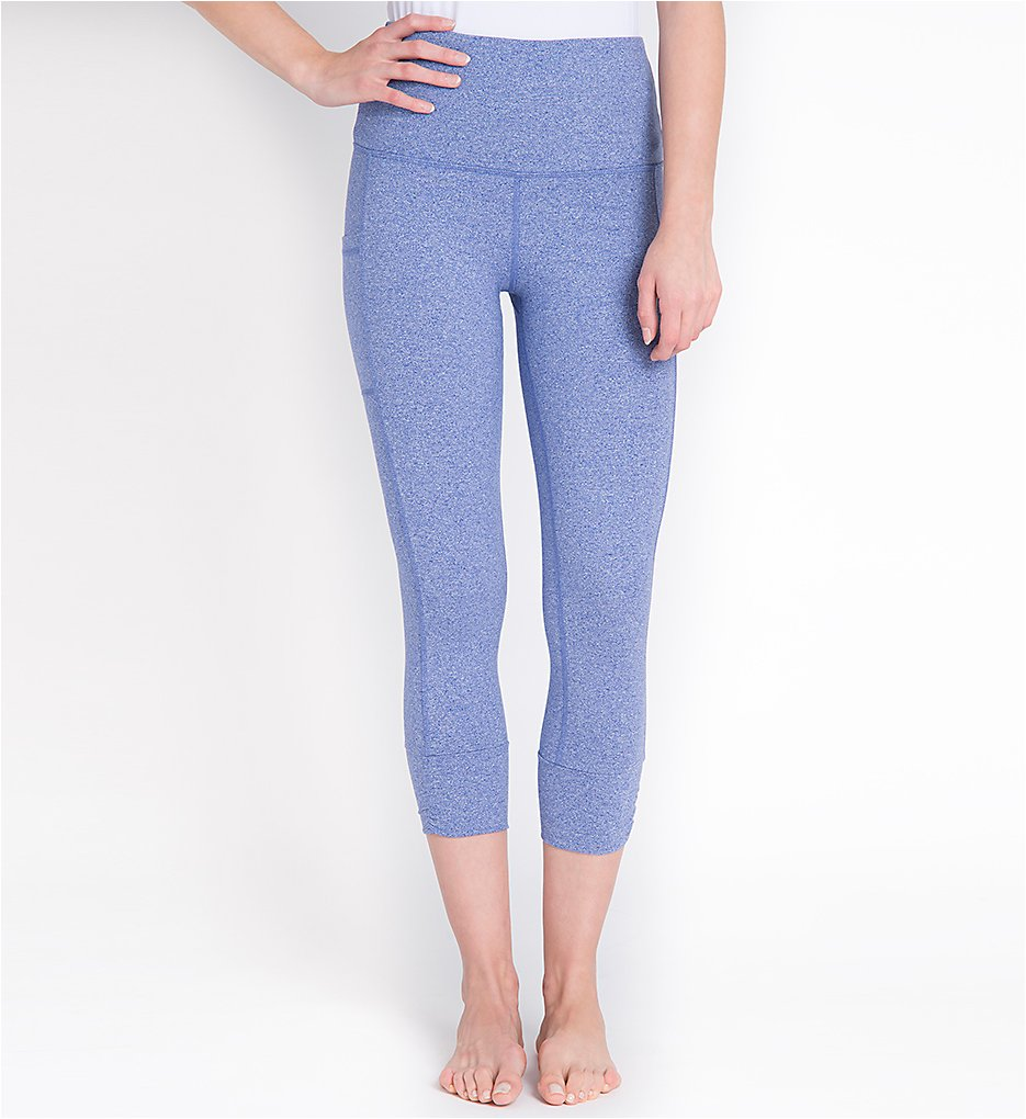 Lysse 1606 Cotton Flex Crop Leggings (Ultra Marine)