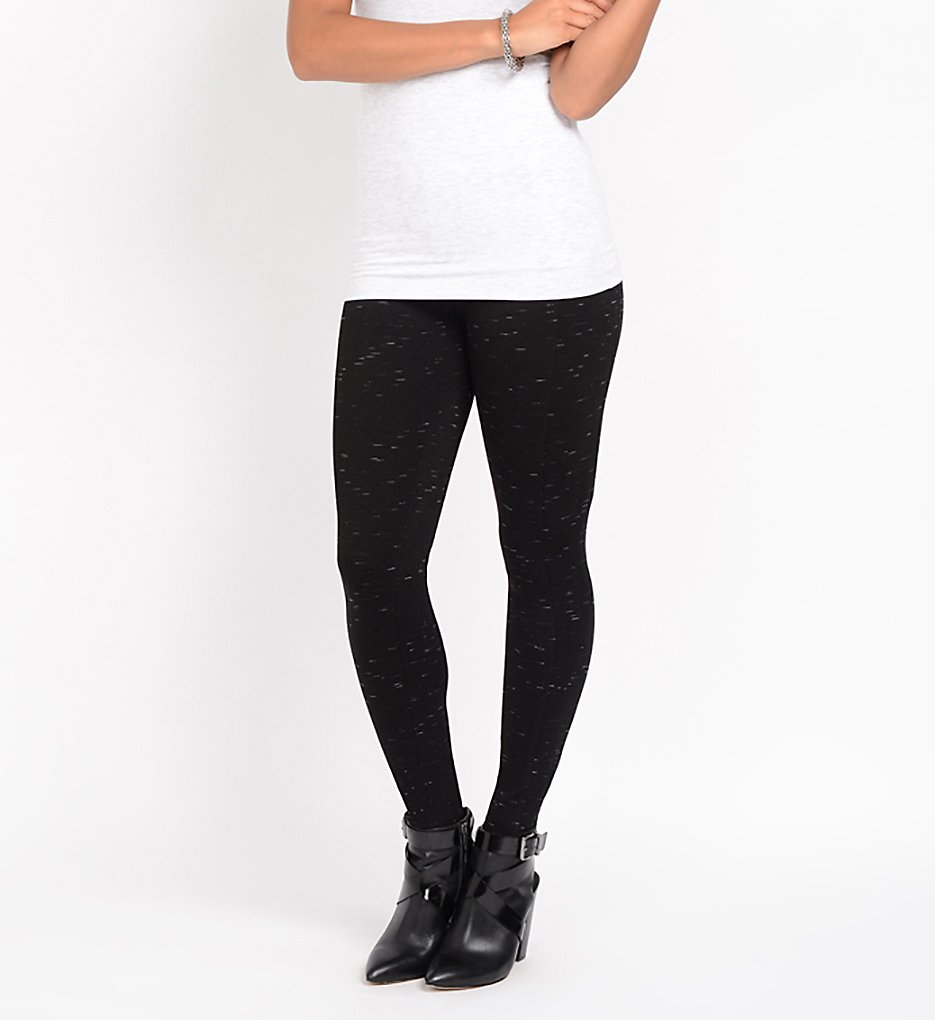 Lysse 5199L Mara Seamed Leggings (Black Slub)
