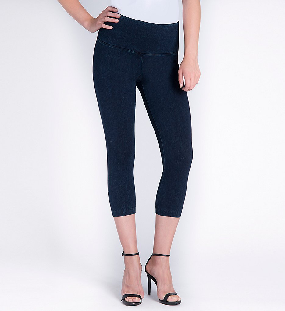 Lysse 6173C Perfect Denim Shaping Capri (Indigo)