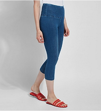 Lysse Leggings Perfect Denim Shaping Capri
