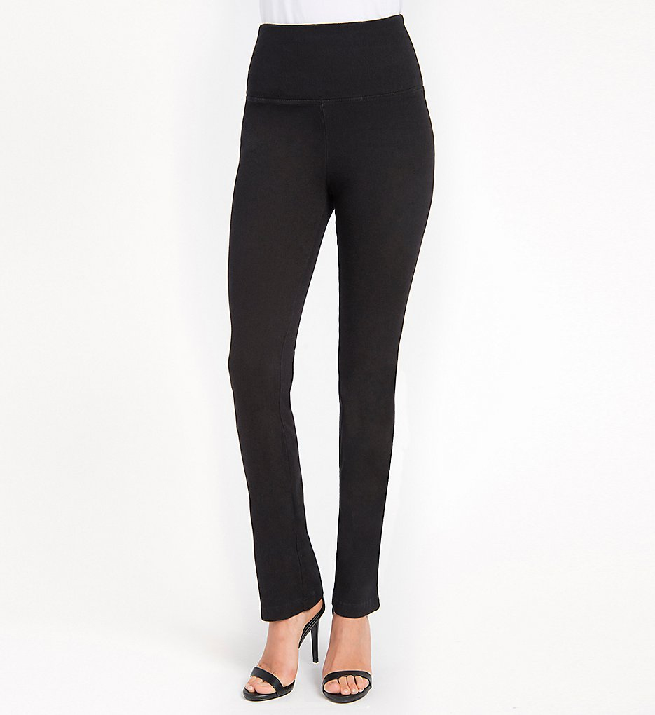 Lysse 6176L Denim Straight Leg Leggings (Black)
