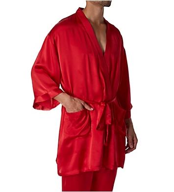 Magic Silk Silk Charmeuse Kimono Robe