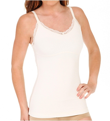 Maidenform Ready to Shape V Neck Lace Trimmed Tank