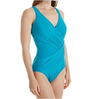 Miraclesuit DD-Cup Oceanus Underwire One Piece Swimsuit