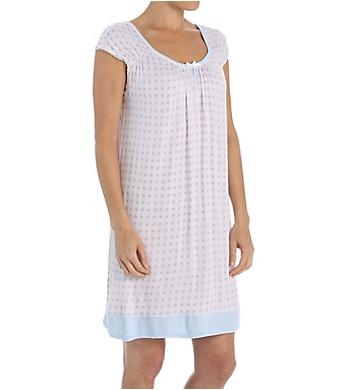 Miss Elaine Liquid Knit Cap Sleeve Chemise
