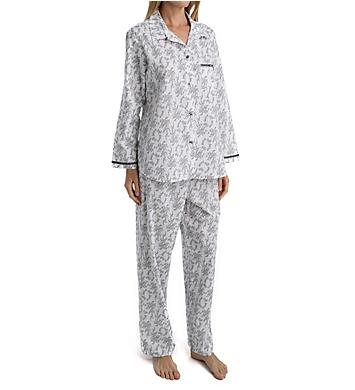 Miss Elaine Cotton Woven Pajama Set