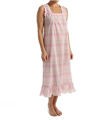 Miss Elaine Cotton Woven Long Gown