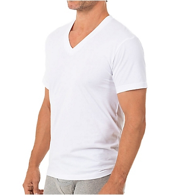 Munsingwear 100% Cotton V-Neck Shirt - 3 Pack