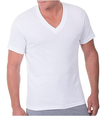 Munsingwear Big Man 100% Cotton V-Neck Shirt - 2 Pack