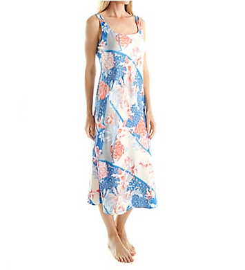 N by Natori Dreamscape Printed Gown