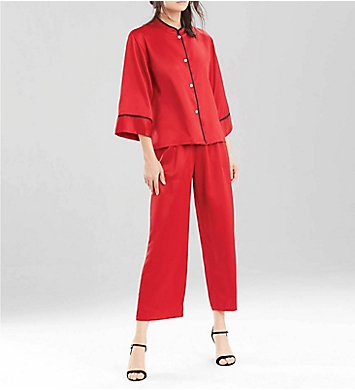 N by Natori Solid Charm Pajama Set