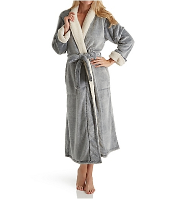 Natori Sherpa Frosted Micro Velour Robe