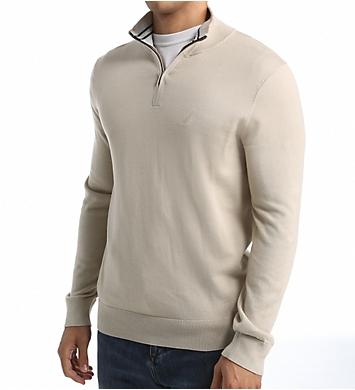 Nautica Solid 1/4 Zip Sweater