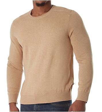 Nautica Solid 100% Cotton Crew Sweater