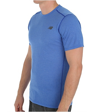 New Balance Pindot Flux Zip Back Pocket Performance Shirt