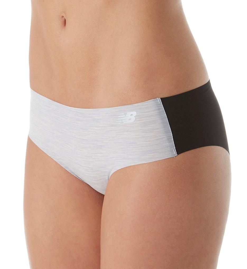 New Balance NB1058 Laser NB Dry Hipster Panty (Concrete Spacedye/Blk)