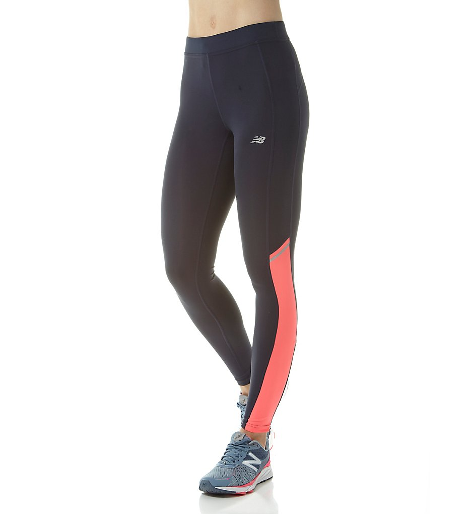 New Balance WP63132 Accelerate NB Dry Performance Tights (Guava/Galaxy)