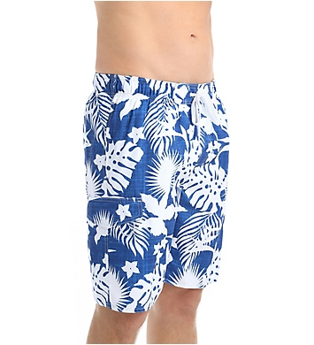 Newport Blue Sea Worthy Floral Swim Trunk
