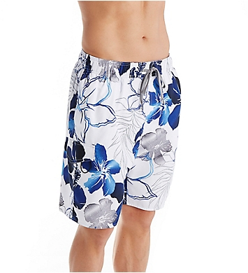 Newport Blue Maui Maze Swim Trunk