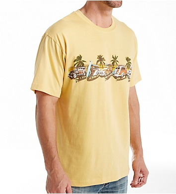 Newport Blue Coastal Cruise Cotton T-Shirt