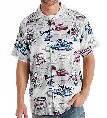 Newport Blue GM High Speed Race Button Down Shirt