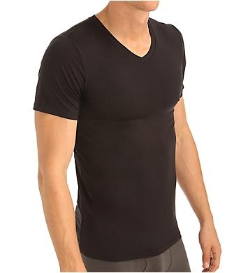 Obviously Essence V-Neck Short Sleeve Undershirt