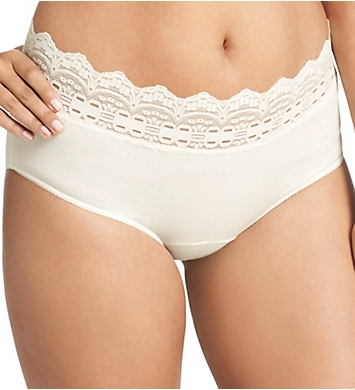 Olga Secret Hug Nylon Scoop Halfpant Panties