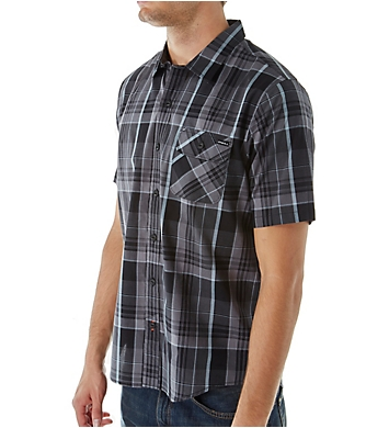 O'Neill Emporium Plaid Short Sleeve Woven Shirt