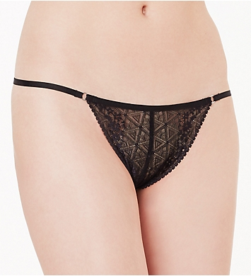 OnGossamer Beautifully Basic Lace Thong