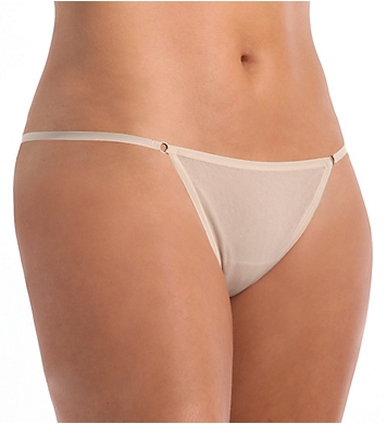 OnGossamer Mesh Model G-String Thong