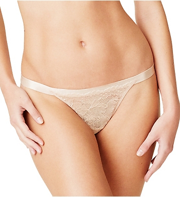 OnGossamer Beautifully Basic Lace Thong