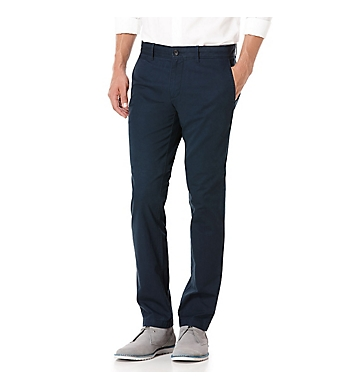 Original Penguin Slim Fit Flat Front Stretch 32 Inch Chino Pant