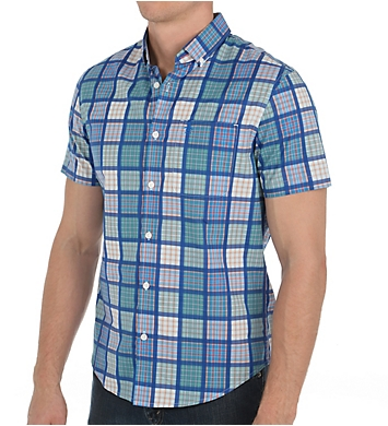 Original Penguin Patchwork Heritage Slim Fit Woven Shirt