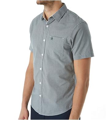 Original Penguin Gingham Heritage Slim Fit Woven Shirt