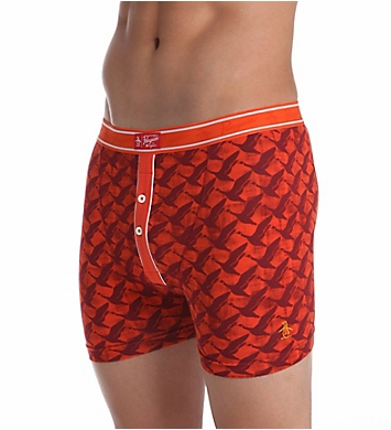 Original Penguin Earl Fashion Red Clay Duck Flight Boxer Brief
