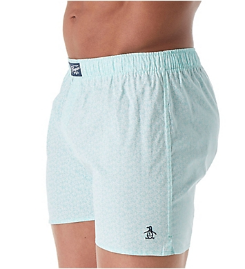 Original Penguin 100% Cotton Penguin Toss Woven Boxer