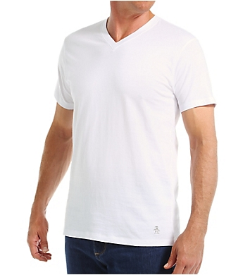 Original Penguin 100% Cotton V-Neck Tee - 3 Pack