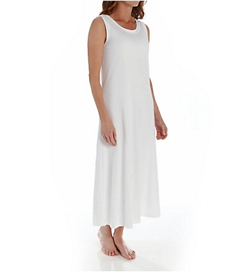 P-Jamas Ankle Length Sleeveless Butterknits Nightgown