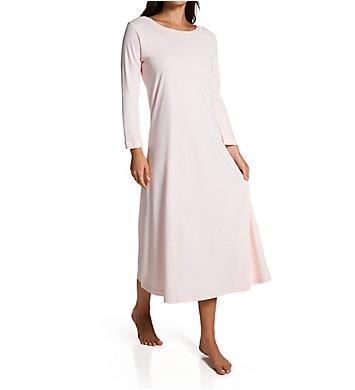 P-Jamas Butterknit LS Long Gown