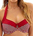Britt Halter Bikini Swim Top