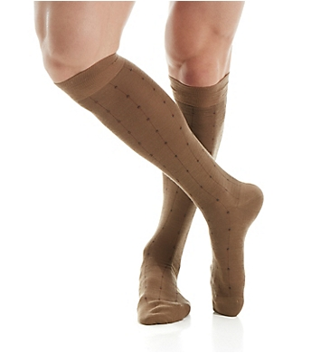 Pantherella Merino Wool Botolph Over The Calf Dress Sock