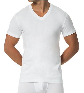 Papi Essentials 100% Cotton V-Neck T-Shirt - 3 Pack
