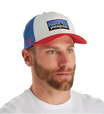 Patagonia P-6 Logo 100% Organic Cotton Trucker Hat