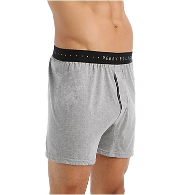 Perry Ellis Trim 100% Pure Cotton Boxer
