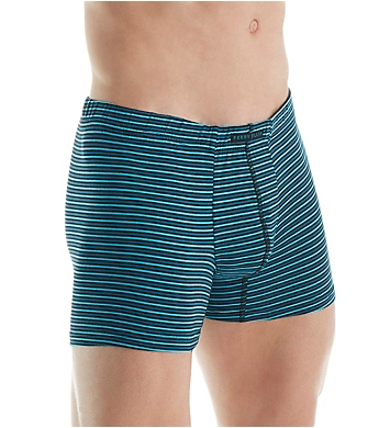 Perry Ellis Cotton Stretch Solid & Stripe Boxer Brief - 3 Pack