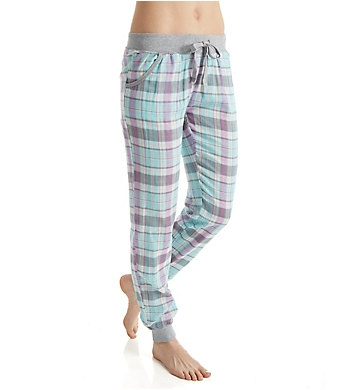 PJ Salvage Travel Lily Plaid Pant